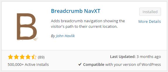 วิธีใส่ Breadcrumb บน WordPress