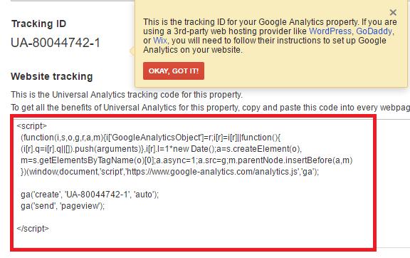 วิธีติดตั้ง Google Analytics บนเว็บไซต์