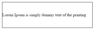จัดข้อความให้อยู่ตรงกลางในแนวตั้งด้วย CSS