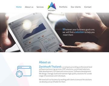เว็บไซต์บริษัทพัฒนาซอฟต์แวร์