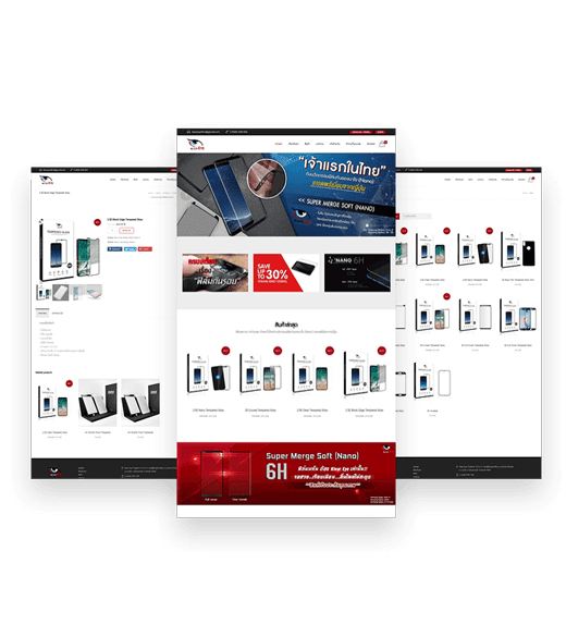 ฟังก์ชันเว็บไซต์ e-commerce ฝั่งหน้าเว็บ (Front-end)