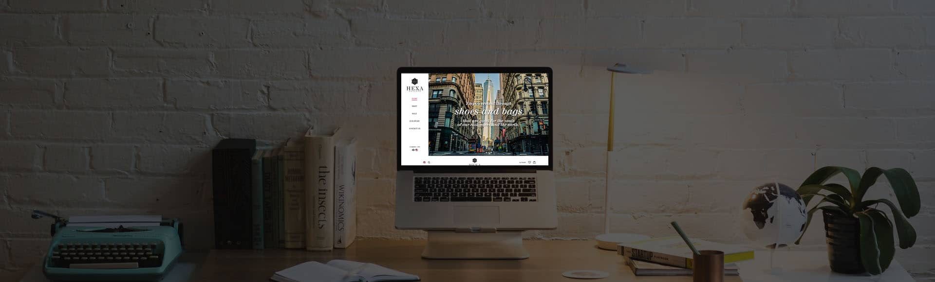 ผลงานทำเว็บไซต์ Hexa   รับทำเว็บไซต์ e-commerce