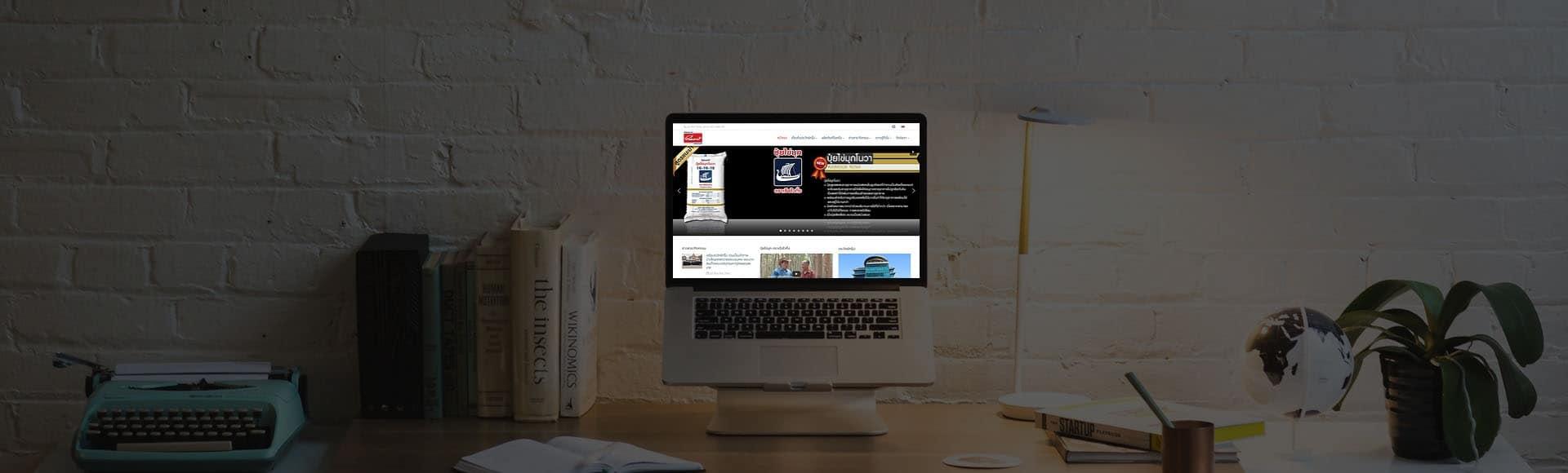 เว็บไซต์บริษัทปุ๋ย เว็บไซต์บริษัท   รับทำเว็บไซต์บริษัท คุณภาพดี