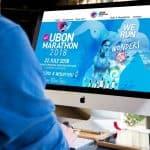 ผลงานทำเว็บไซต์  Ubon Marathon 2018