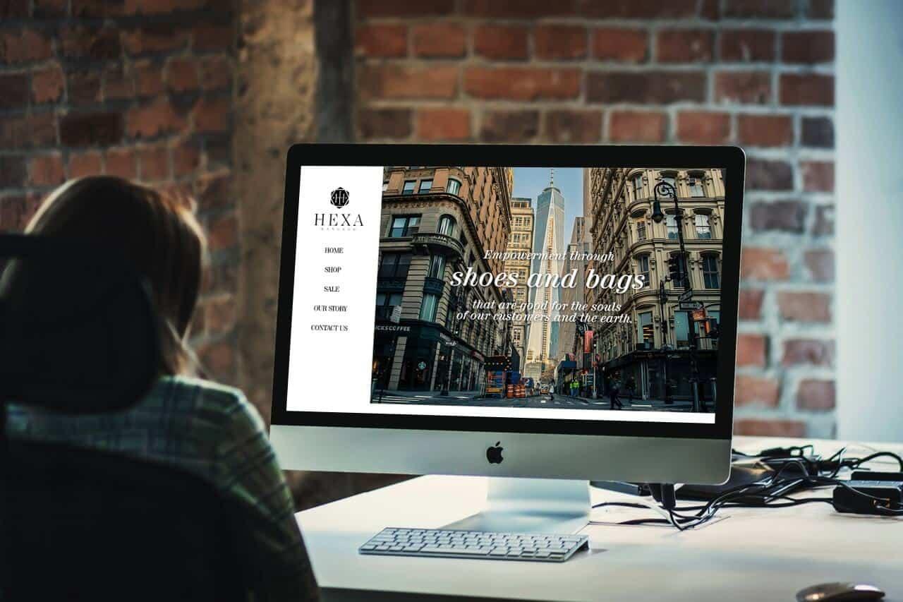 ผลงานทำเว็บไซต์ Luxury E-commerce