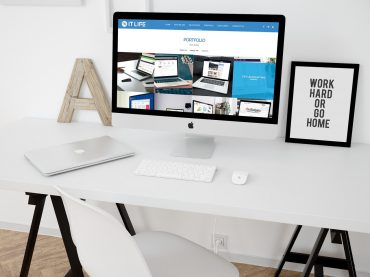 ผลงานเว็บไซต์ IT Life | บริการรับทำเว็บไซต์ ออกแบบเว็บไซต์