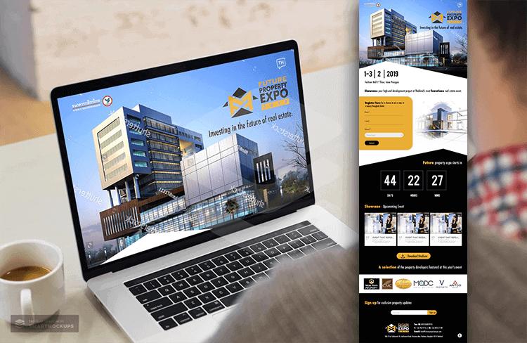 FUTURE PROPERTY EXPO 2019   บริการรับทำเว็บไซต์ ออกแบบเว็บไซต์ teeneeweb.com
