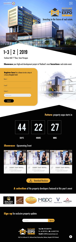 อสังหาริมทรัพย์และอีเว้นท์ | บริการรับทำเว็บไซต์ ออกแบบเว็บไซต์ teeneeweb.com